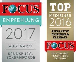 Augenklinik Rendsburg Focus Empfehlung