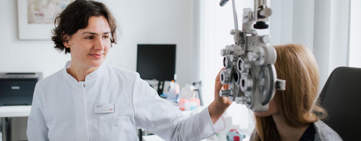 Augenklinik Rendsburg Augenarztpraxen Untersuchung