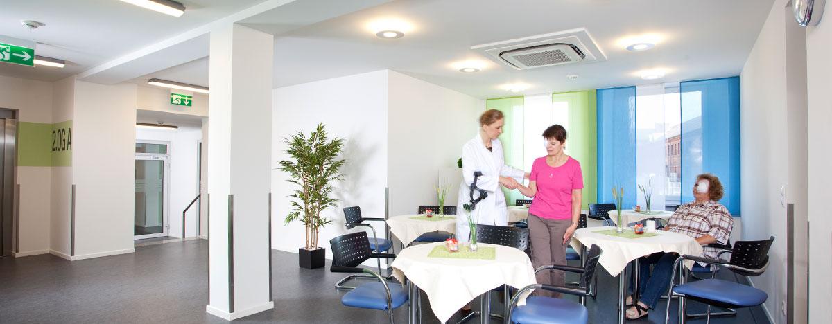 Augenklinik Rendsburg Klinikaufenthalt Aufenthaltsraum