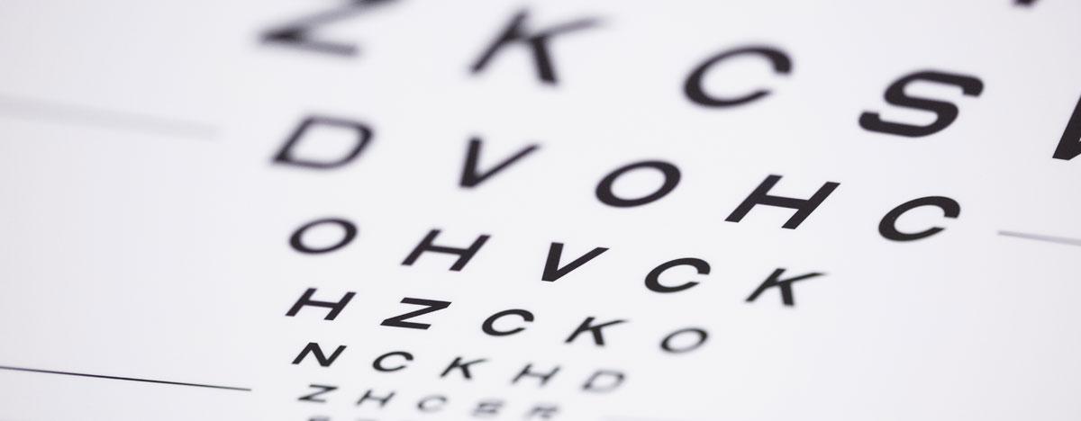 Augenklinik Rendsburg Untersuchung Sehtest