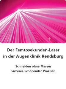 Augenklinik Rendsburg Flyer Femtosekunden-Laser