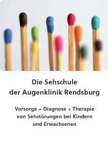 Augenklinik Rendsburg Flyer Sehschule